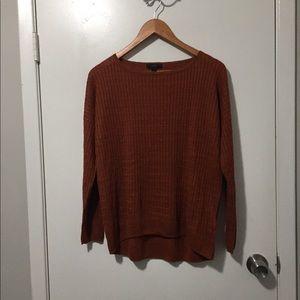 J.Crew linen long sleeve shirt medium ~ Earthtone